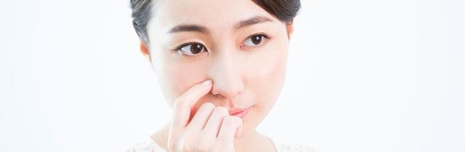「小鼻の毛穴の開きが目立つときの毛穴の引き締め方法」サムネイル画像