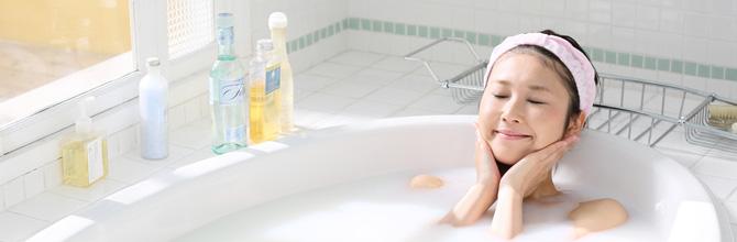 「美容に最適なお風呂の入浴方法と入浴剤の選び方」サムネイル画像